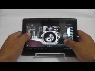 Обзор- Планшет 7' Q88, Allwinner A13 Cortex A8, 1.0 ГГц, 512 Мб, 4 Гб