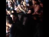 Мэрилин Мэнсон на концерте Die Antwoord
