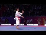 World Combat Games 2013. SAKURA vs NGUYEN. Karate Women's Kata. Bronze Medal